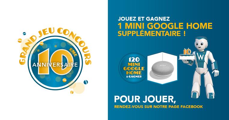 Jeu Concours Gagnez Une Mini Google Home