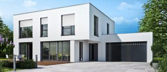 que choisir porte de garage lames ou porte sectionnelle wizeo. Black Bedroom Furniture Sets. Home Design Ideas